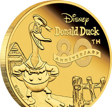 Donald Duck coins