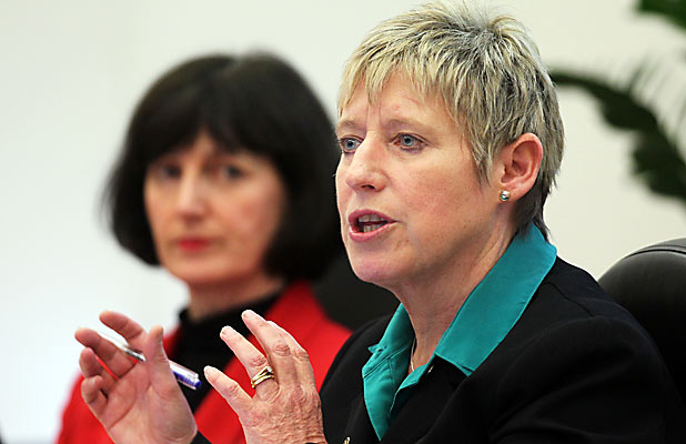 Mayor Lianne Dalziel
