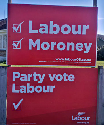Altered Labour billboard