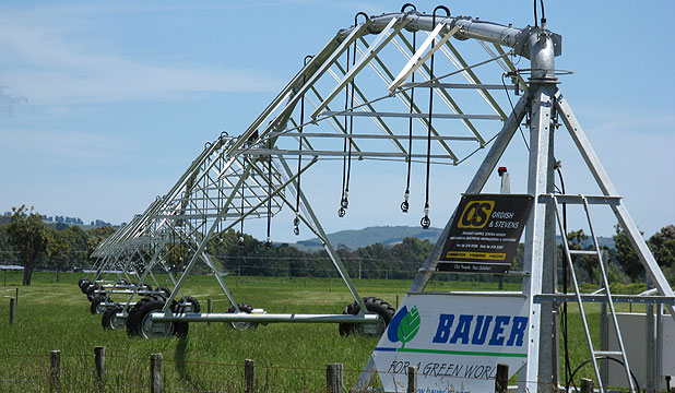 Environment Court says because they have wheels, pivot irrigators are vehicles.