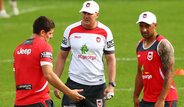 Paul McGregor and Benji Marshall