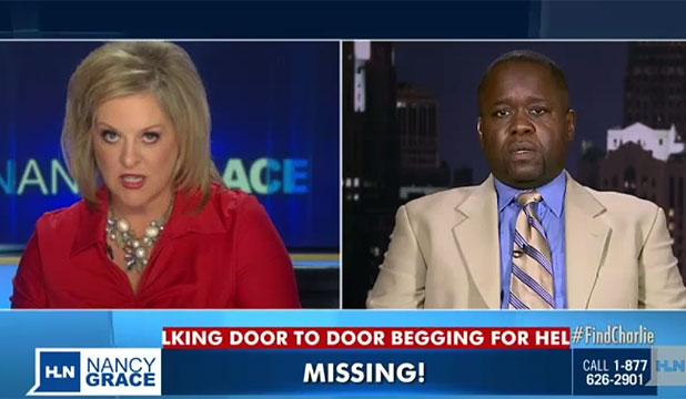 Nancy Grace and Charlie Bothuell IV