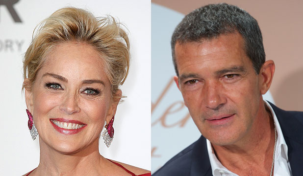 Sharon Stone and Antonio Banderas