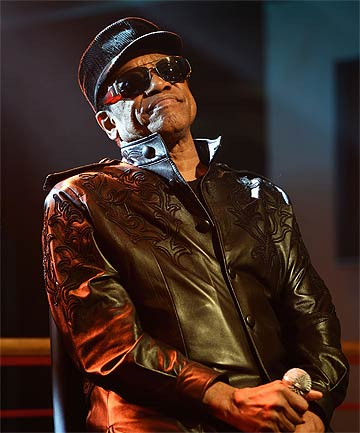 BOBBY WOMACK: The Rock and Roll Hall of Fame member wrote numerous hits including the Rolling Stones'