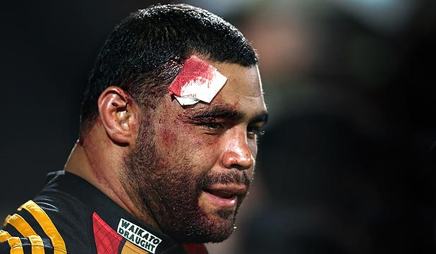 BEN AFEAKI: Still dealing with the effects of concussion.