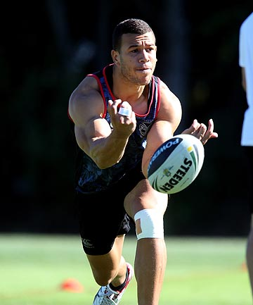 MOVING ON: NZ Warriors utility Carlos Tuimavave has signed a two-year deal with the Newcastle Knights.