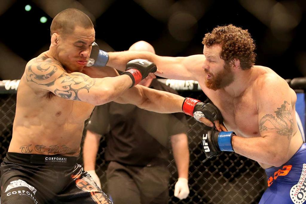 James Te Huna and Nate Marquardt