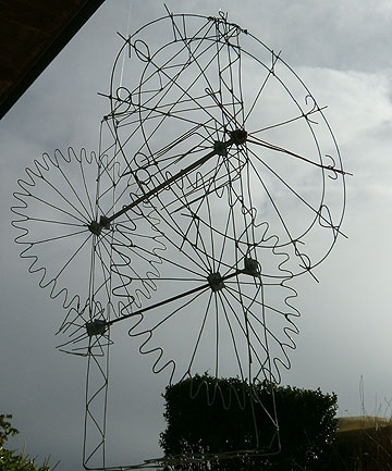 More wire creations from Morrinsville farmer Tony Gray.
