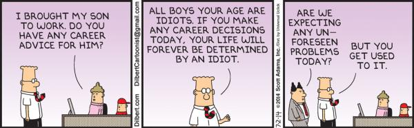 Dilbert, cartoon