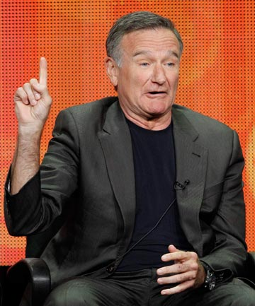 BACK IN REHAB: Robin Williams.