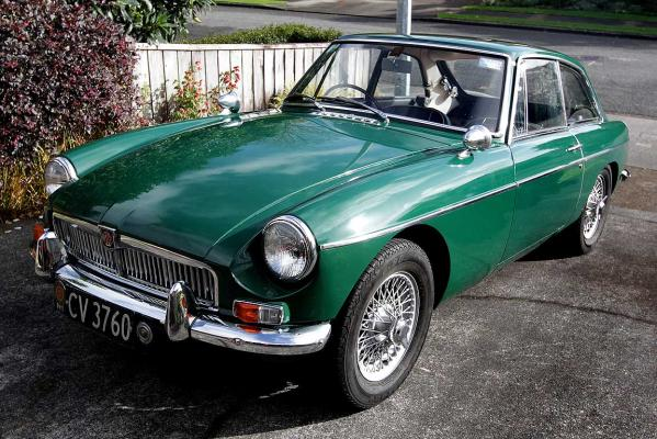 Don Burgess's British built MGB.