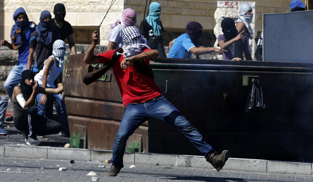 Palestinians clash in Jerusalem
