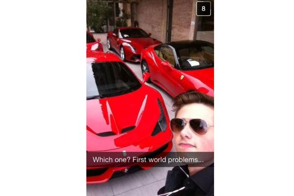The rich kids of Snapchat