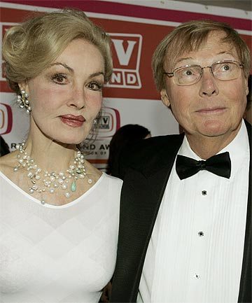THE BATMAN: Julie Newmar (L) and Adam West, stars of the 1960's television series Batman, in 2006.