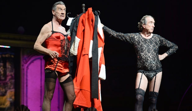 Michael Palin and Eric Idle