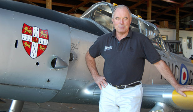 Wings Over Wairarapa airshow director Tom Williams