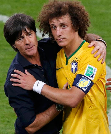 Joachim Loew and David Luiz