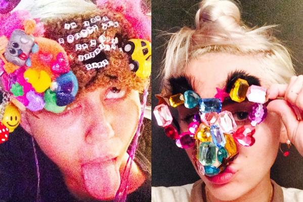 The week in celeb self snaps