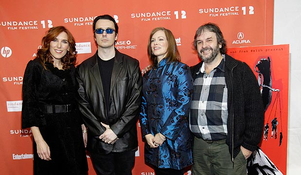 Amy Berg, Damien Wayne Echols, Lorri Davis and Peter Jackson
