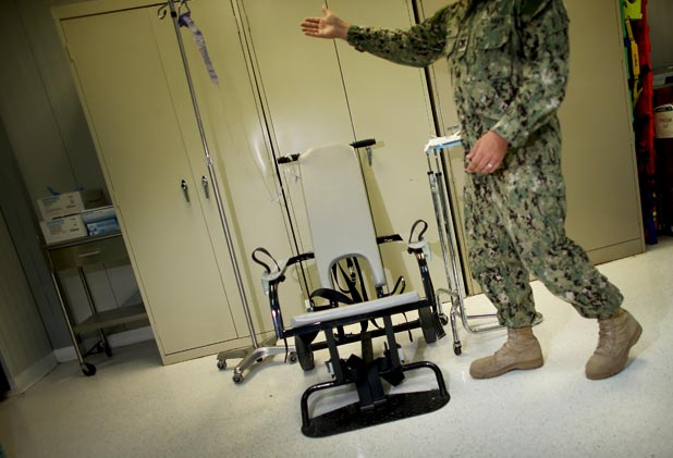 Guantanamo force feeding