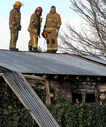 40 Retreat Rd, Avonside arson