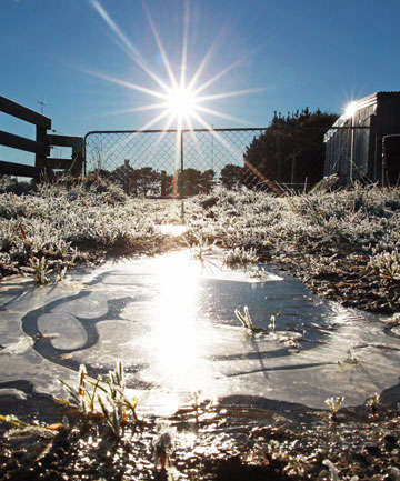 Southland frost