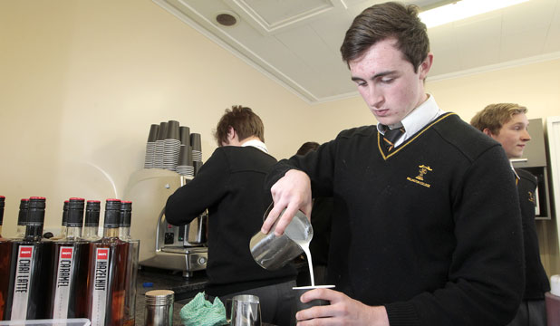 Wellington college cafe