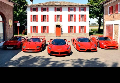 Ferrari fanatic takes his collection of exclusive cars on a road trip to pick his lastest purchase, the limited edition LaFerrari.