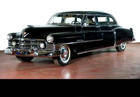 A Cadillac limousine that was the official state car for Eva Peron is headed for the auction block.
