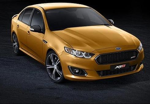 Ford has shown the face of its last Australian Falcon.