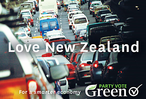 Greens love NZ campaign