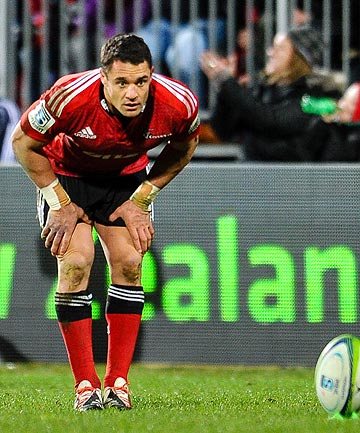 OFF TARGET: Dan Carter has missed eight of his 18 shots at goal since his return, but is not overly concerned just yet.