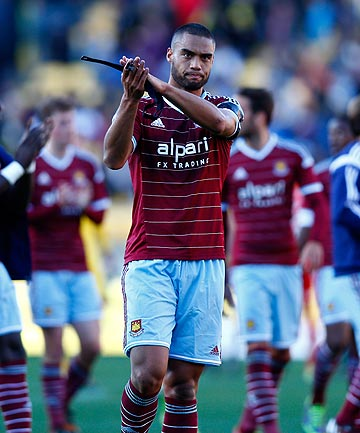 SORRY GUYS: West Ham captain Winston Reid leaves Westpac Stadium after Saturday's 3-1 loss to Sydney FC.