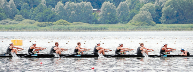 New Zealand rowing eight