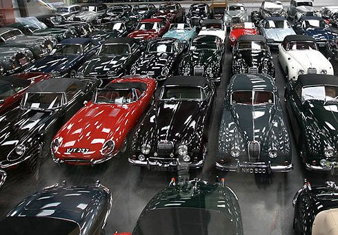 Jaguar buys huge classic car collection