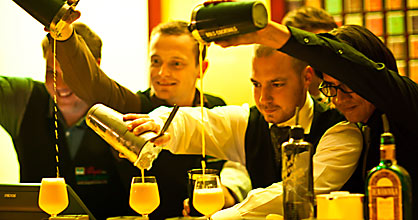 Dilmah mixologists