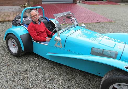 It took almost 50 years, but Andrew Lush is finally the proud owner of his dream car.