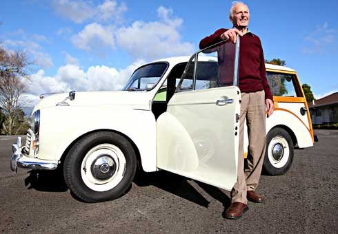 The purchase of a rare Traveller has concluded Ian Rookes' Morris Minor collection.