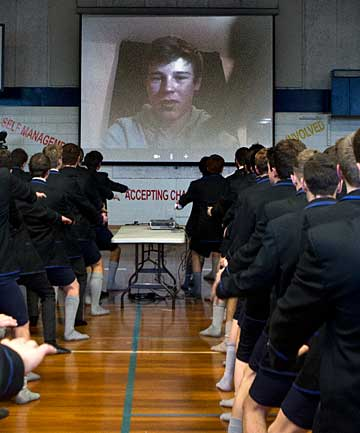 Christchurch Boys' High mass haka