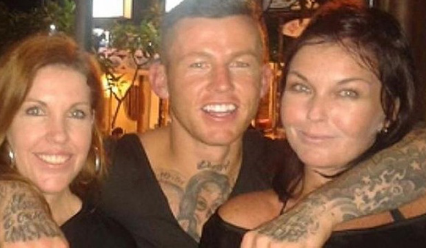 Todd Carney and the Corby sisters