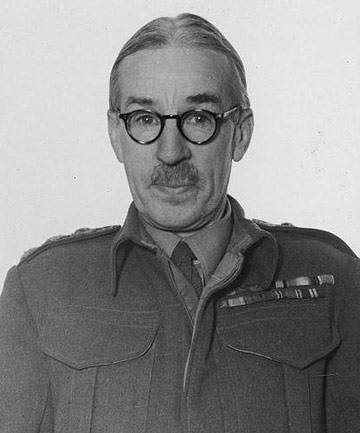 HIGHLY REGARDED: Lieutenant Colonel Ivon Standish, pictured during World War II – the third great conflict he served in.