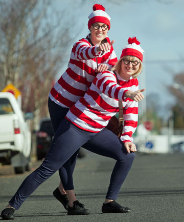 Where's Wally crew, Kendall Parkinson and Virginia Pak