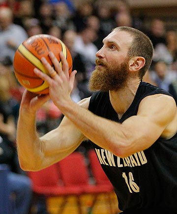 TIME TO SHINE: The next few matches are key for Nick Horvath in his battle with Casey Frank for the one naturalised place on the Tall Blacks roster for the World Cup.