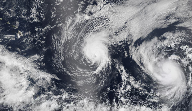 Hurricane Iselle and Julio