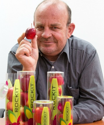 Phil Alison of Rockit Apples.