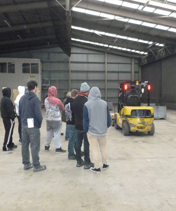 timaru department of corrections offenders forklift training