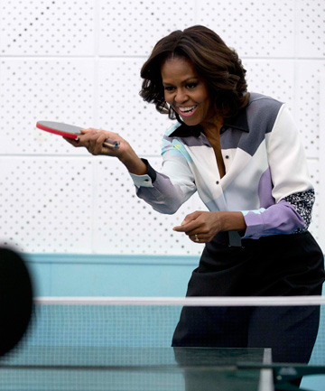 Here's one for the 'WTF, does he have eyes?' files - a Fox expert thinks FLOTUS is too hefty to be a health icon.