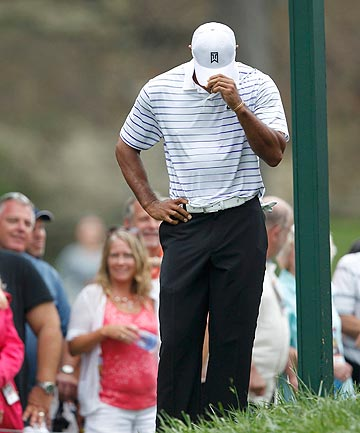 TOUGH TIMES: Tiger Woods will miss the upcoming Ryder Cup due to a back complaint.