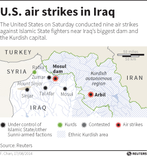 Iraq graphic