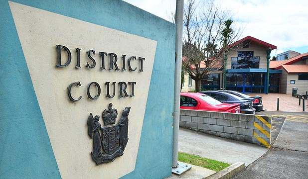 CHARGED: The 33-year-old man was arrested in Kaitaia this morning and appeared in a closed court session in the Kaitaia District Court.